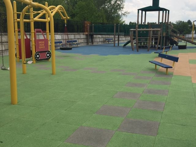 Playground New Safety Tiles
