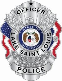Lake Saint Louis Police Officer Badge