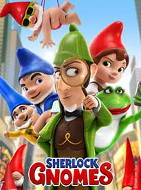Sherlock Gnomes Movie Cover